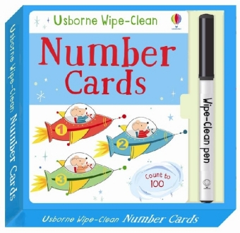 Wipe-Clean Number Cards | Dodax.nl