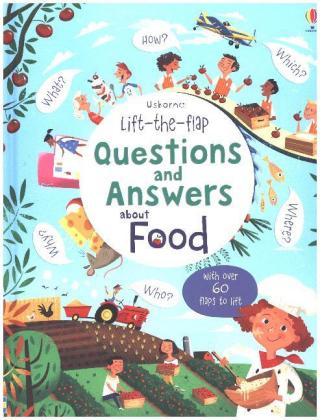 Lift-the-flap Questions and Answers about Food | Dodax.ch