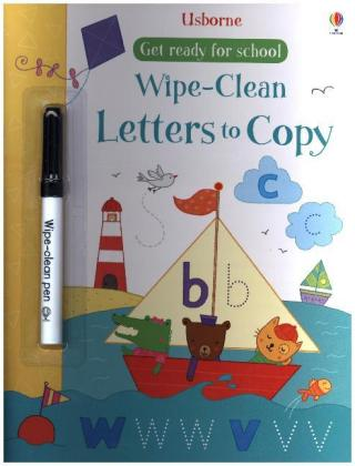 Wipe-clean Letters to Copy, w. pen   Dodax.at