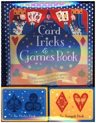 Card Tricks and Games, Book and 2 packs of Cards | Dodax.fr
