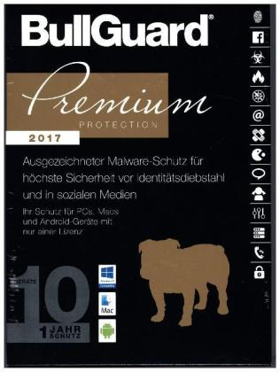 BullGuard Premium Protection 2017, 1 DVD-ROM | Dodax.at