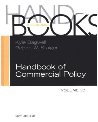Handbook of Commercial Policy | Dodax.at