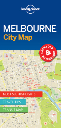 Lonely Planet City Map Melbourne | Dodax.ch