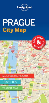 Lonely Planet City Map Prague | Dodax.at