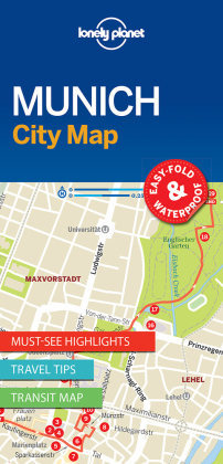 Lonely Planet City Map Munich | Dodax.fr