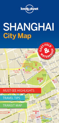 Lonely Planet City Map Shanghai | Dodax.ch