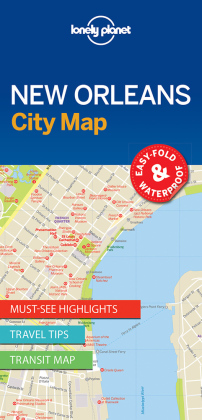 Lonely Planet City Map New Orleans | Dodax.ch