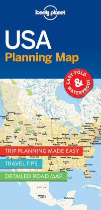 Lonely Planet Planning Map USA | Dodax.ch