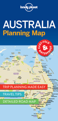 Lonely Planet Planning Map Australia | Dodax.at