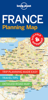 Lonely Planet Planning Map France | Dodax.at