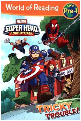 World of Reading Super Hero Adventures: Tricky Trouble! | Dodax.fr
