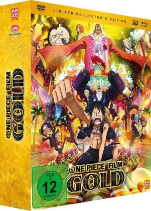 One Piece Movie 12: Gold 3D. Tl.12, 2 Blu-ray + 1 DVD (Limited Collector's Edition) | Dodax.pl