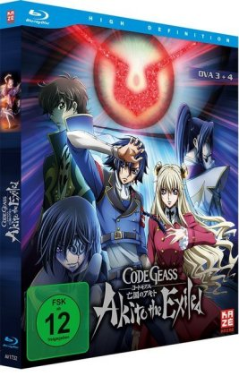 Code Geass - OVA 3+4 Akito the Exiled. Tl.3+4, 1 Blu-ray | Dodax.es