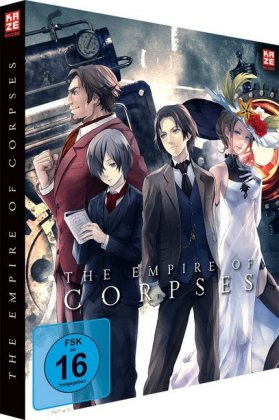 Project Itoh Trilogie Teil 1: The Empire of Corpses. Tl.1, 1 Blu-ray (DVD und Blu-ray Collector's Edition) | Dodax.at