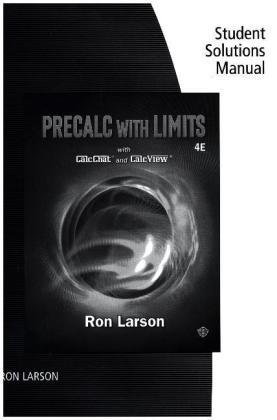 Study Guide with Instructor's Website for Larson's Precalculus with Limits | Dodax.pl