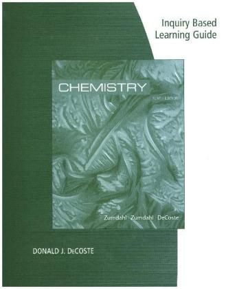 Inquiry Based Learning Guide for Zumdahl/Zumdahl's General Chemistry | Dodax.at