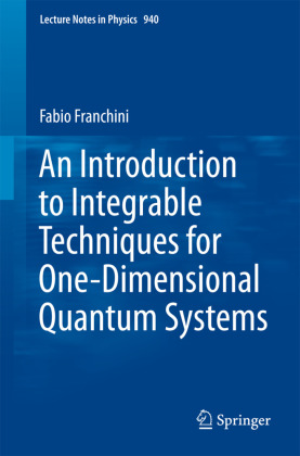 An Introduction to Integrable Techniques for One-Dimensional Quantum Systems | Dodax.de