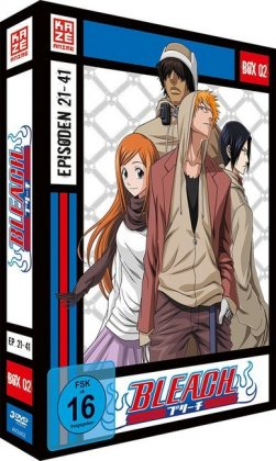 Bleach TV-Serie. Box.2, 3 DVDs | Dodax.at