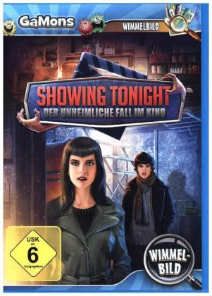 Showing Tonight, Der unheimliche Fall im Kino, 1 CD-ROM | Dodax.fr