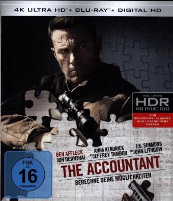 The Accountant 4K, 2 UHD-Blu-ray | Dodax.at