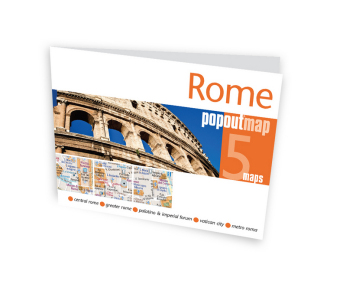 Rome PopOut Map, 2 maps | Dodax.ch