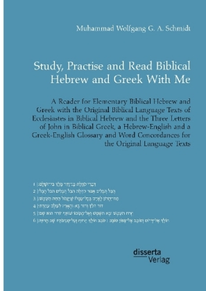 Study, Practise and Read Biblical Hebrew and Greek With Me | Dodax.nl