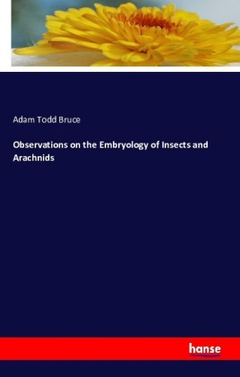 Observations on the Embryology of Insects and Arachnids | Dodax.nl