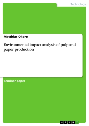Environmental impact analysis of pulp and paper production | Dodax.ch