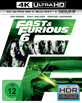 Fast & Furious 6 - Extended Version - 4K | Dodax.fr