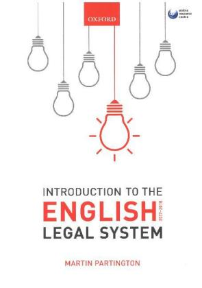 Introduction to the English Legal System 2017-2018 | Dodax.pl