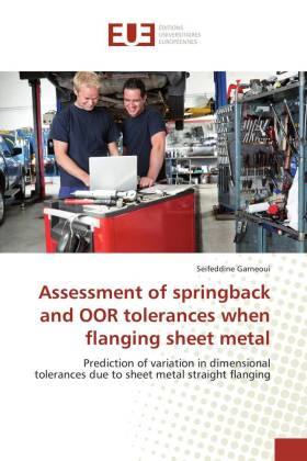 Assessment of springback and OOR tolerances when flanging sheet metal | Dodax.pl