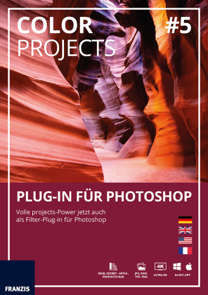 Color projects No.5 Plug-In für Photoshop (Win & Mac), CD-ROM | Dodax.at
