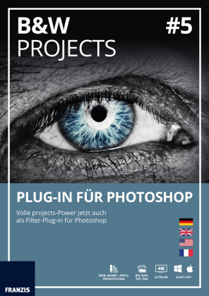 BLACK & WHITE projects No.5 Plug-In für Photoshop (Win & Mac), CD-ROM | Dodax.at