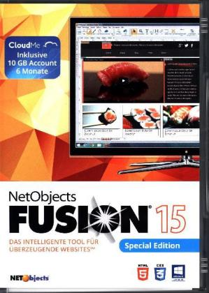 NetObjects Fusion 2015, 1 CD-ROM (Special Edition) | Dodax.nl