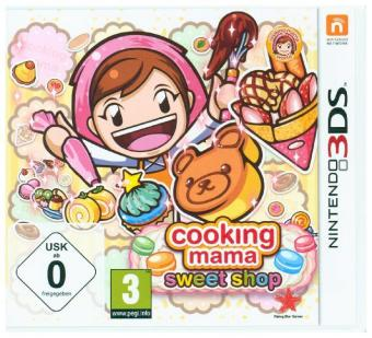 Cooking Mama, Sweet Shop, 1 Nintendo 3DS-Spiel | Dodax.com
