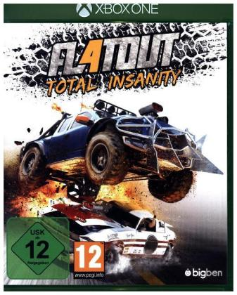 Flatout, Total Insanity, 1 XBox One-Blu-ray Disc | Dodax.at