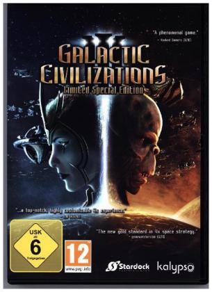 Galactic Civilizations III, 1 DVD-ROM (Limited Special Edition) | Dodax.co.uk