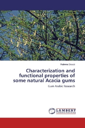 Characterization and functional properties of some natural Acacia gums | Dodax.pl