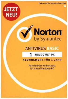 Norton AntiVirus Basic 1D, 1 User, 1 Jahr, Elektronischer Software-Download | Dodax.at