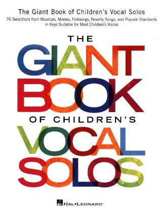 The Giant Book Of Children's Vocal Solos | Dodax.pl