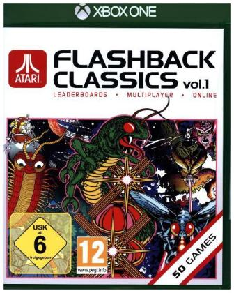 Atari Flashback Classics Vol. 1, 1 XBox One-Blu-ray Disc | Dodax.fr