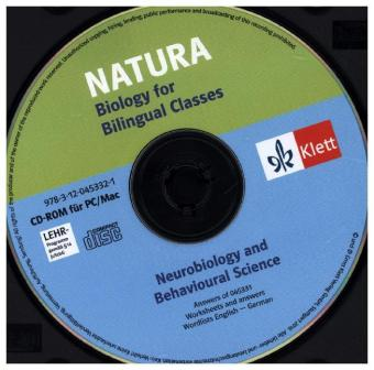 Natura - Biology for bilingual classes / Neurobiology. Lösungs-CD | Dodax.ca