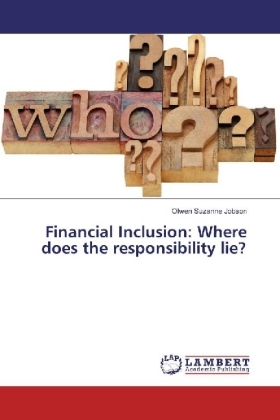 Financial Inclusion: Where does the responsibility lie?   Dodax.ch