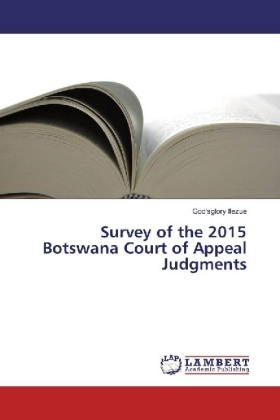 Survey of the 2015 Botswana Court of Appeal Judgments | Dodax.pl
