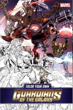 Color Your Own Guardians of the Galaxy   Dodax.de