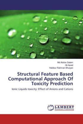Structural Feature Based Computational Approach Of Toxicity Prediction | Dodax.ch