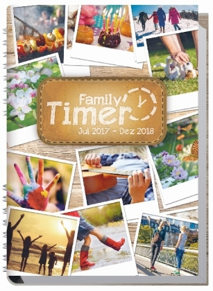 Family-Timer A5 18 Monate 2017/2018 | Dodax.at