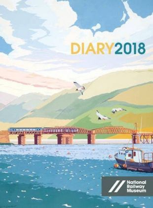National Railway Museum Desk Diary 2018 | Dodax.at
