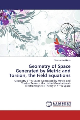 Geometry of Space Generated by Metric and Torsion, the Field Equations | Dodax.pl