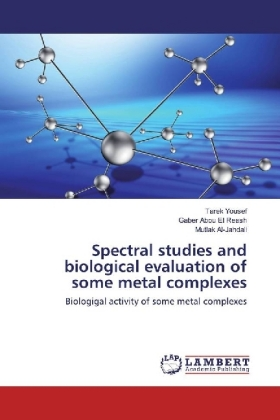 Spectral studies and biological evaluation of some metal complexes | Dodax.ch
